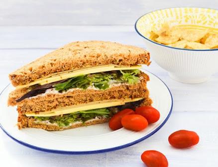 Vegan Sage & Onion Cheese Sandwiches