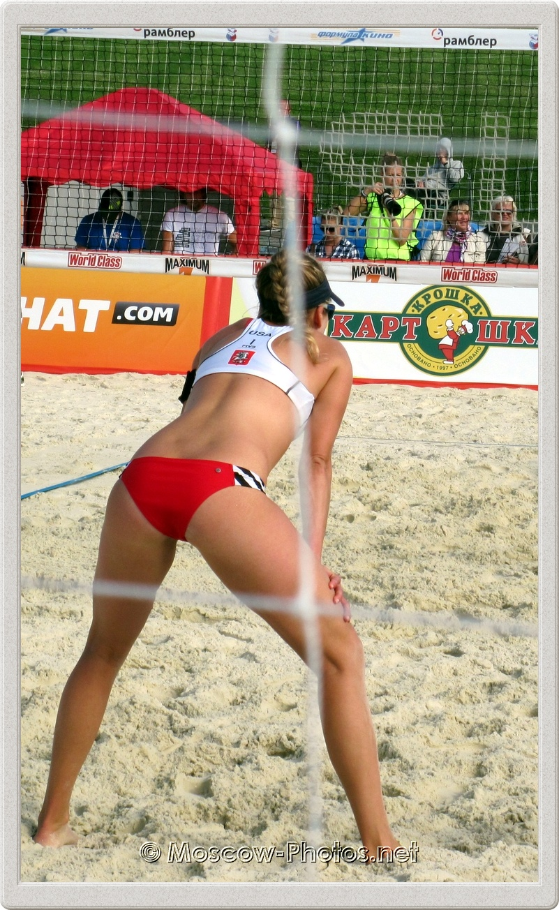 Beach Volleyball Player April Ross