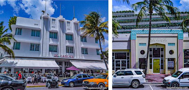 Arquitetura art déco em South Beach, Miami Beach