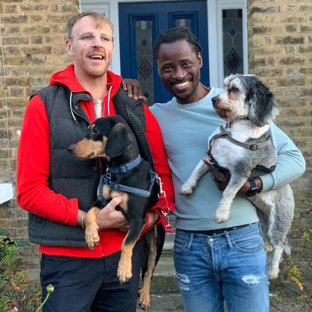 'From Homeless Boy To House Owner' - Nigerian Gay, Bisi Alimi & Husband Get 2nd London Home