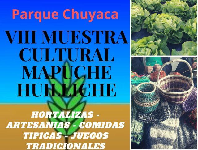 Muestra Cultural Mapuche Huilliche en Parque Chuyaca