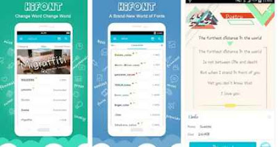 Download aplikasi HiFont