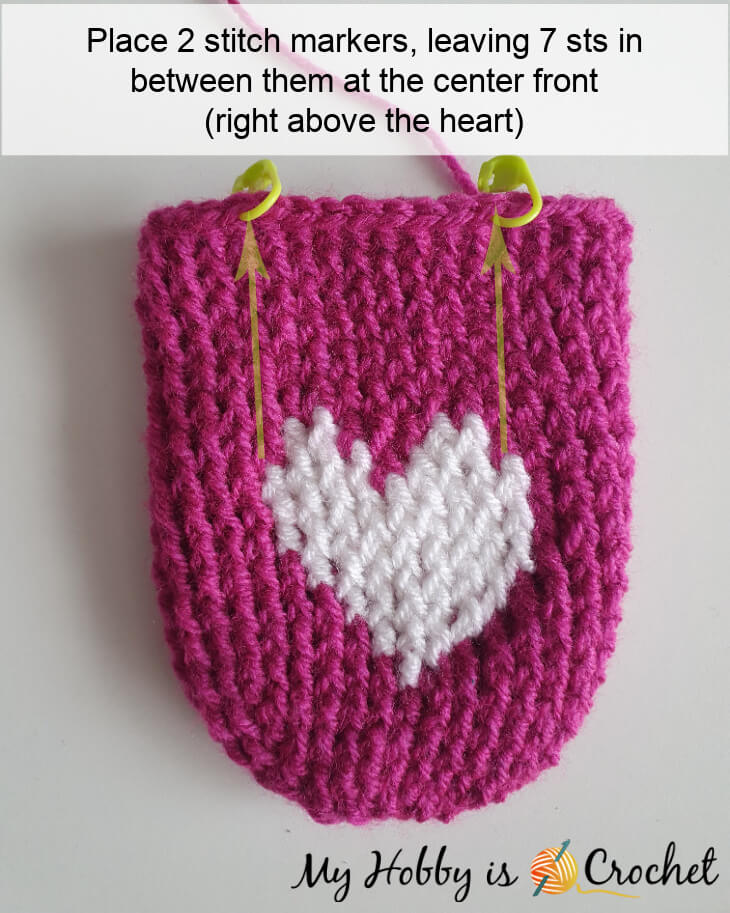 crochet heart slippers worked toe up