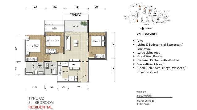 Northpark Residences @ Yishun Floor Plan