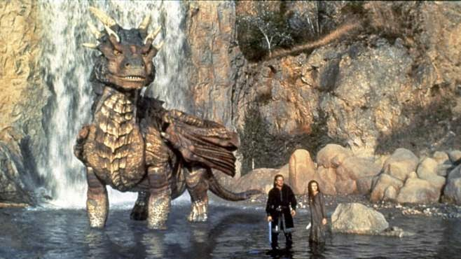 Dragonheart Draco Bown sword sorcery movie