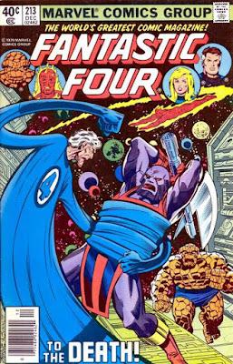 Fantastic Four #213, Terrax