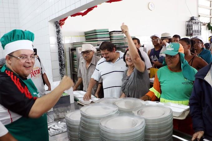 Nosso Natal serve 46 mil refeições; média diária é de 23,7 mil