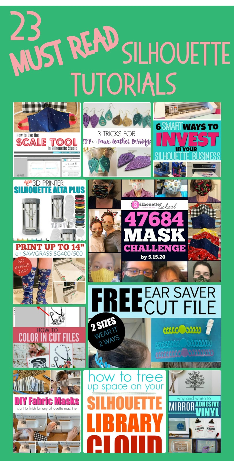 silhouette studio, cameo 4, face mask, sublimation, silhouette 101, silhouette america blog