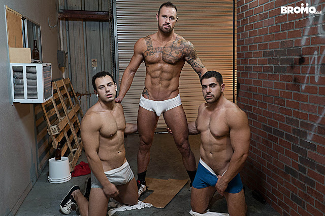 BROMO - Whore Alley Part 4 - Damien Stone | Michael Roman | Leon Lewis
