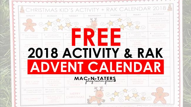 Random Acts of Kindness Advent Calendar for Kids
