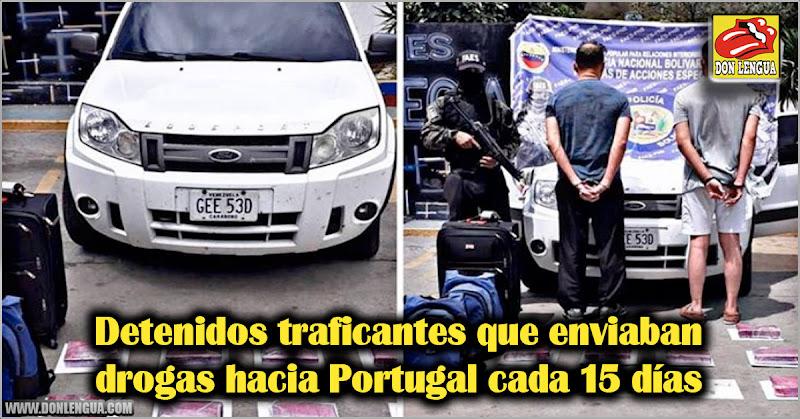 Detenidos traficantes que enviaban drogas hacia Portugal cada 15 días