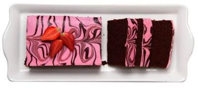 Amanda Brownies Pink Marble