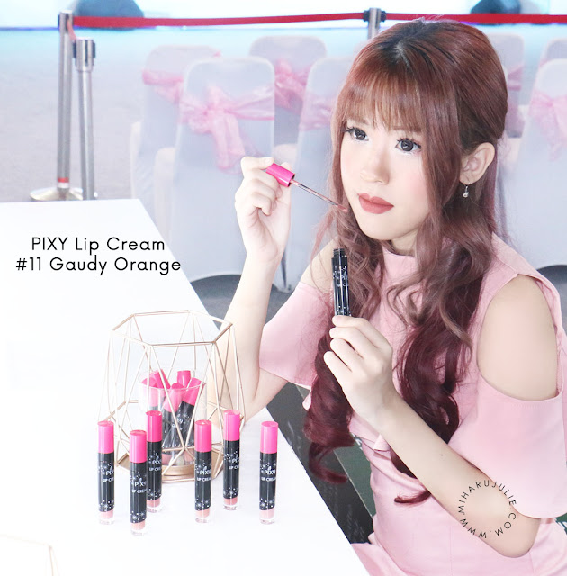PIXY LIP CREAM GAUDY ORANGE #11 review
