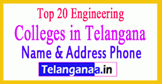 Top 20 Engineering Colleges in Telangana