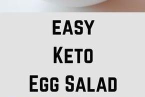 Easy Keto Egg Salad Recipe