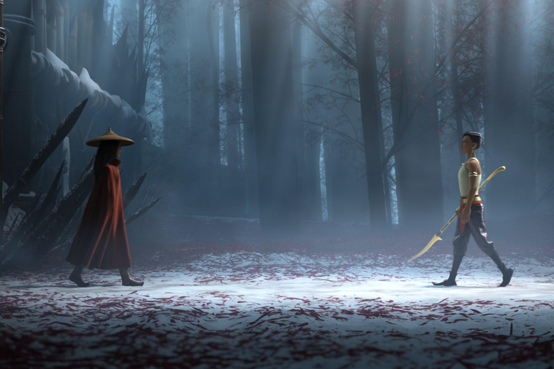 """فيلم ديزني الجديد """"رايا والتنين الأخير"""" وقصة الأميرة المحاربة التي تنقذ العالم"""