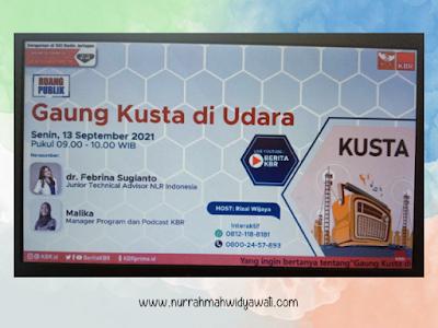 talkshow KBR dan NLR Indonesia