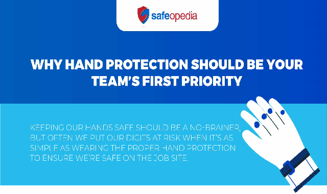 Why Hand Protection Should Be Your Team's First Priority #infographic