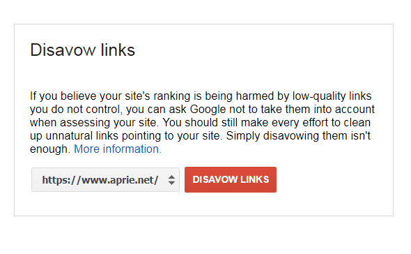 Cara Menolak backlink atau visitor dari situs lain