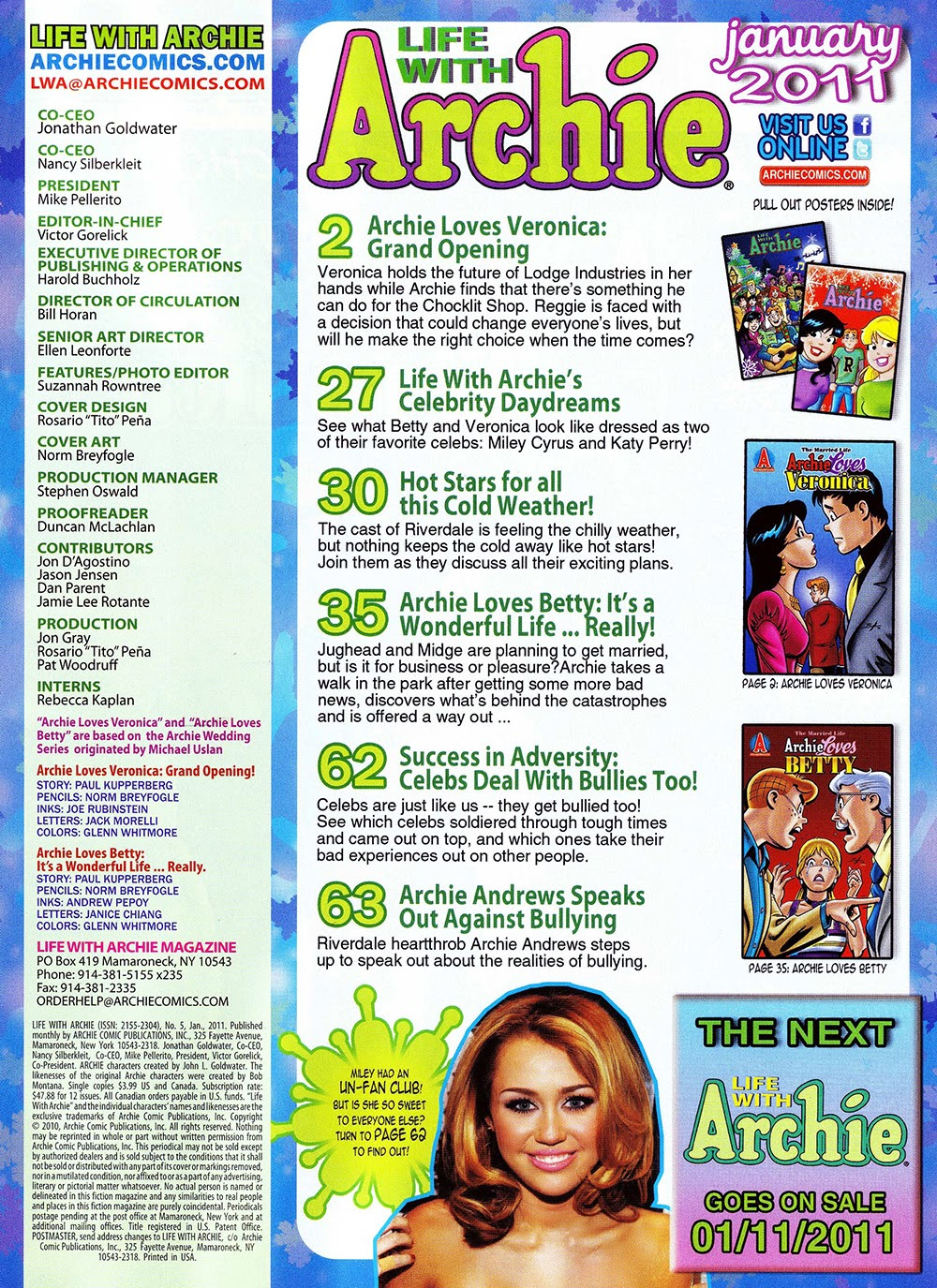 Life With Archie 005 (2010) ……………… ……… | Viewcomic reading comics
