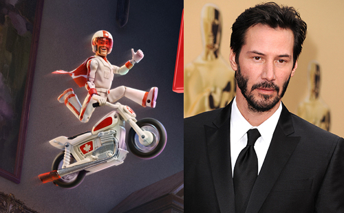 Toy Story 4 Duke Caboom Keanu Reeves