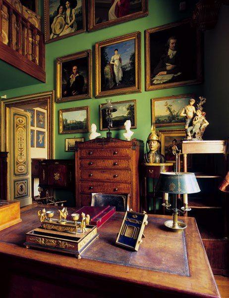 English Study Room: Splendid Sass: THE PERFECT HOME OFFICE