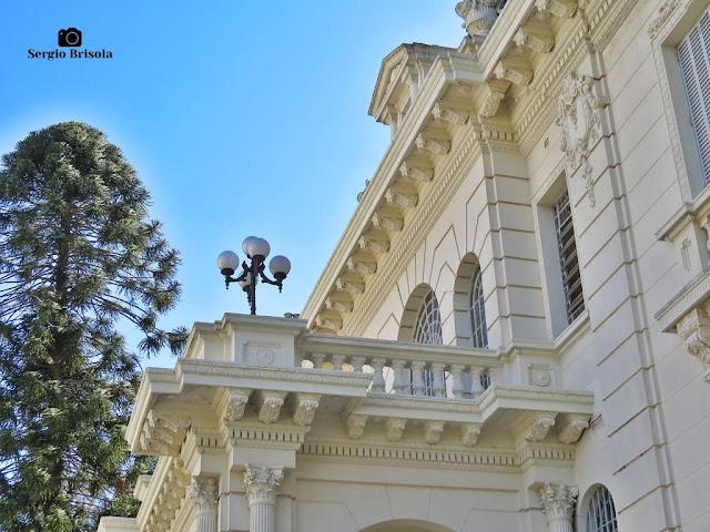 Palacete Violeta (terraço lateral - detalhes)