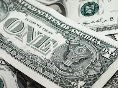 شكل عملة الدولار الأمريكي
