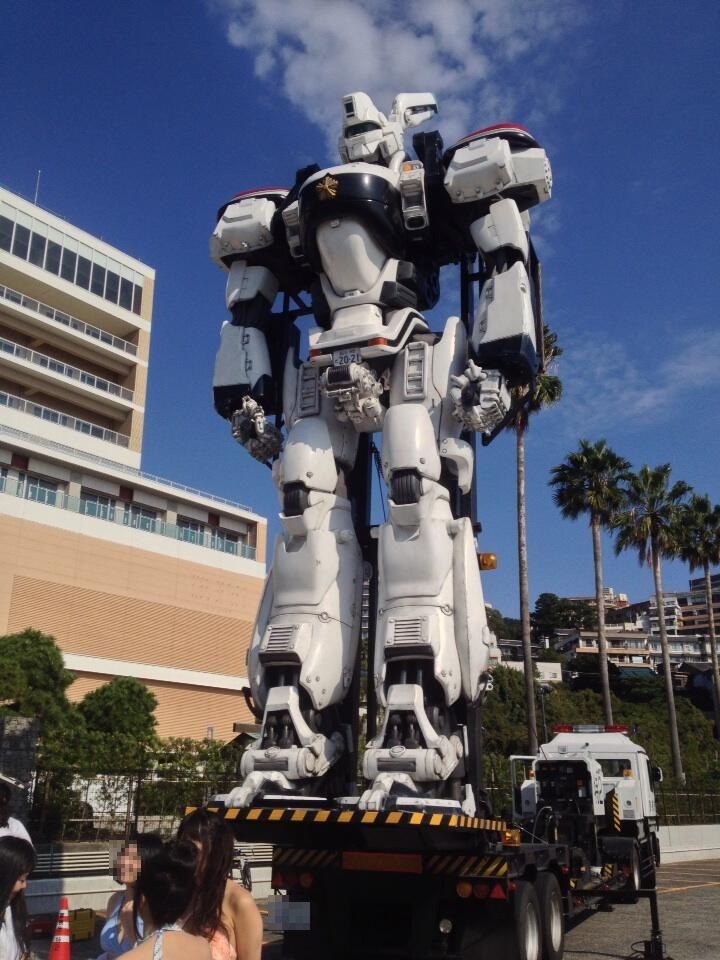 《機動警察 Patlabor》真人版 英格蘭姆進駐熱海市 ~ 遊戲情報網 GameNews - 事前登錄情報