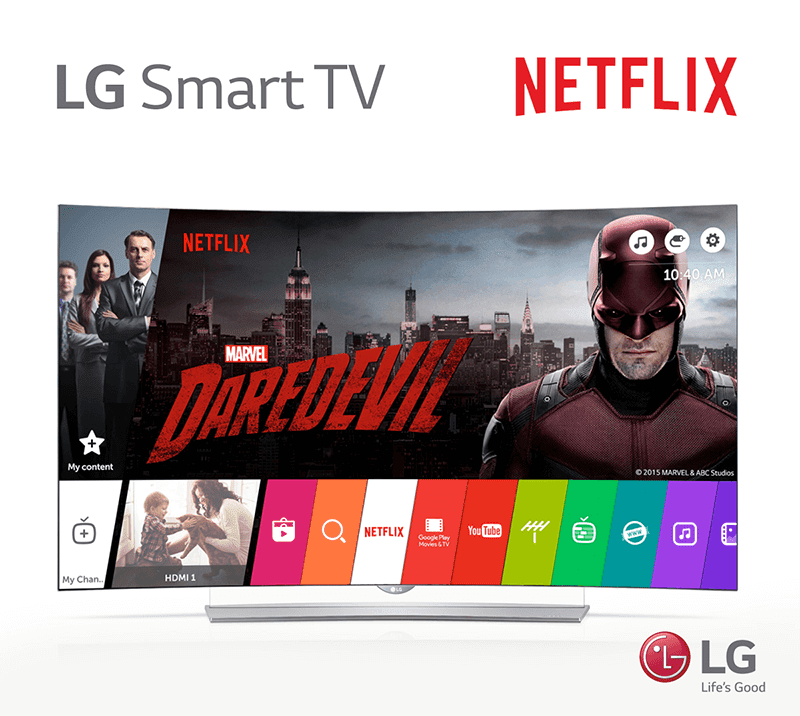LG TV compatible with Netflix