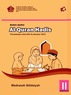 buku guru mata pelajaran al-qur'an hadits kelas 2 mi kurikulum 2013