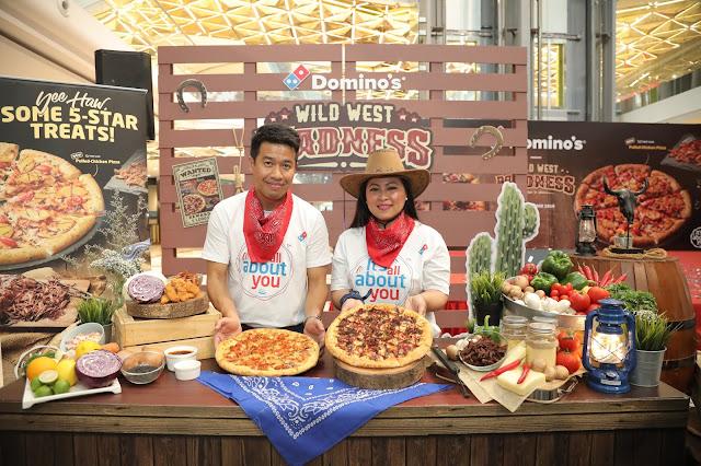 Domino's Pizza Tambah Daya Tarikan  dengan Piza Daging Carik Terbaharu