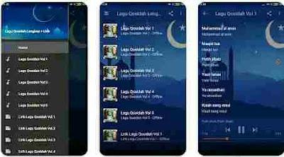 Aplikasi Lagu Qasidah - Lagu Qasidah Lengkap Offline