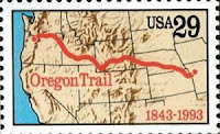 stamp of oregon trail