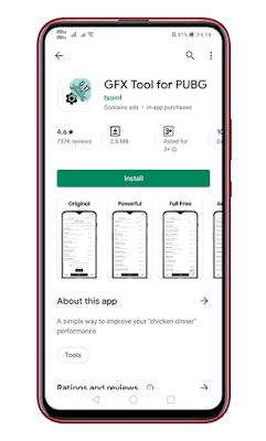 Gunakan Aplikasi Tool GFX
