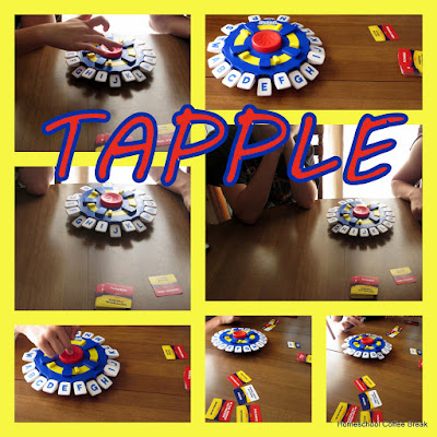 Tapple and Wonky - A review of two fun family games from USAopoly on Homeschool Coffee Break @ kympossibleblog.blogspot.com #game #family