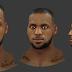 Lebron James Cyberface 2K17 Version [FOR 2K14]