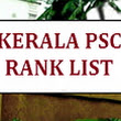 RANK LIST: TECHNICAL SUPERVISOR - KERALA ARTISANS DEVELOPMENT CORPORATION LIMITED -RANK LIST -2018 - StateWide