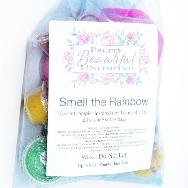 Pretty Beautiful Unlimited Smell the Rainbow Wax Sampler