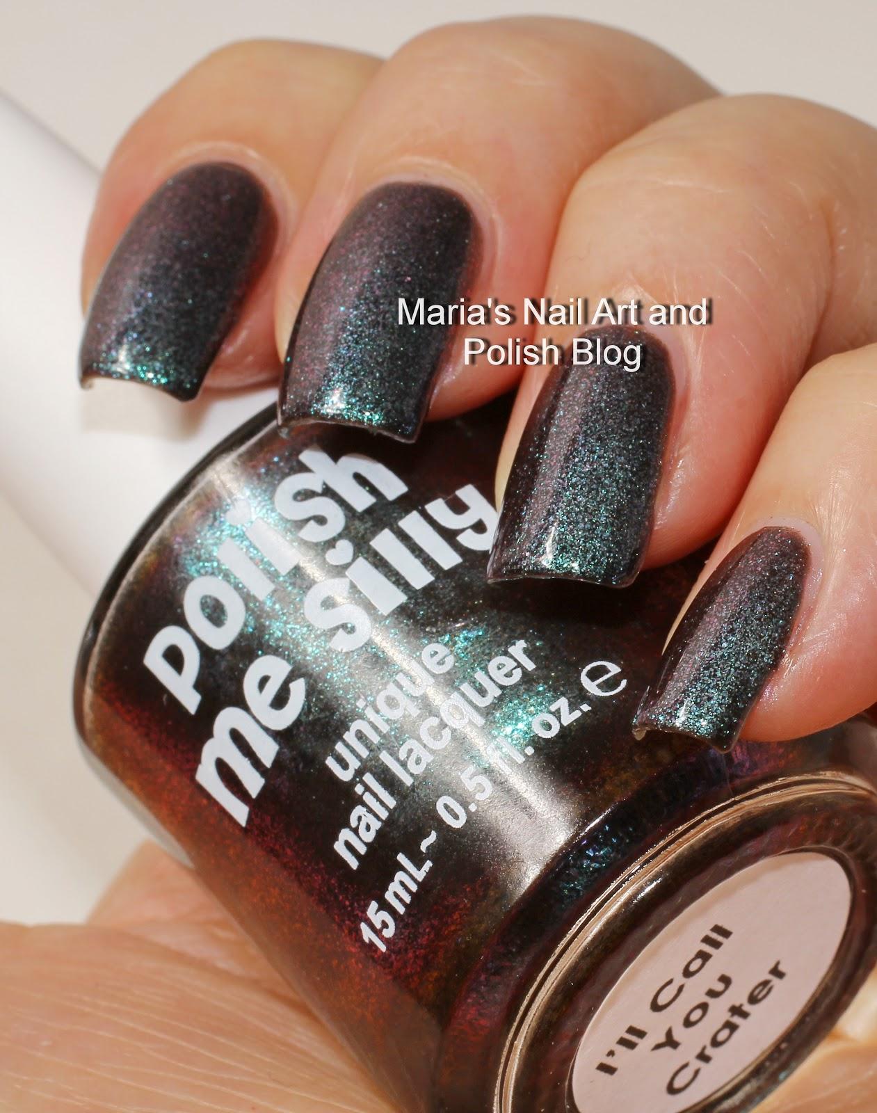 Polish Me Perfect: Marias Nail Art And Polish Blog: Polish Me Silly I'll Call