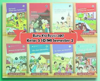 Download Gratis Buku K13 Revisi 2017 Kelas 2 SD/MI Semester 2