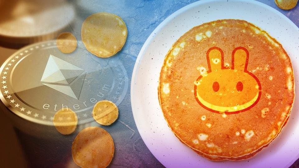 PancakeSwap éclipse le réseau Ethereum en 24 heures de transactions - Digitalisia