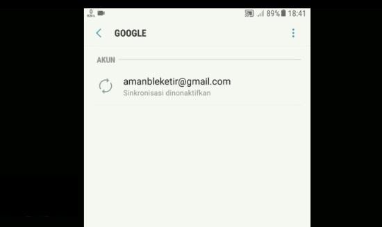 Proses Keluar Dari Akun Google Mail 3