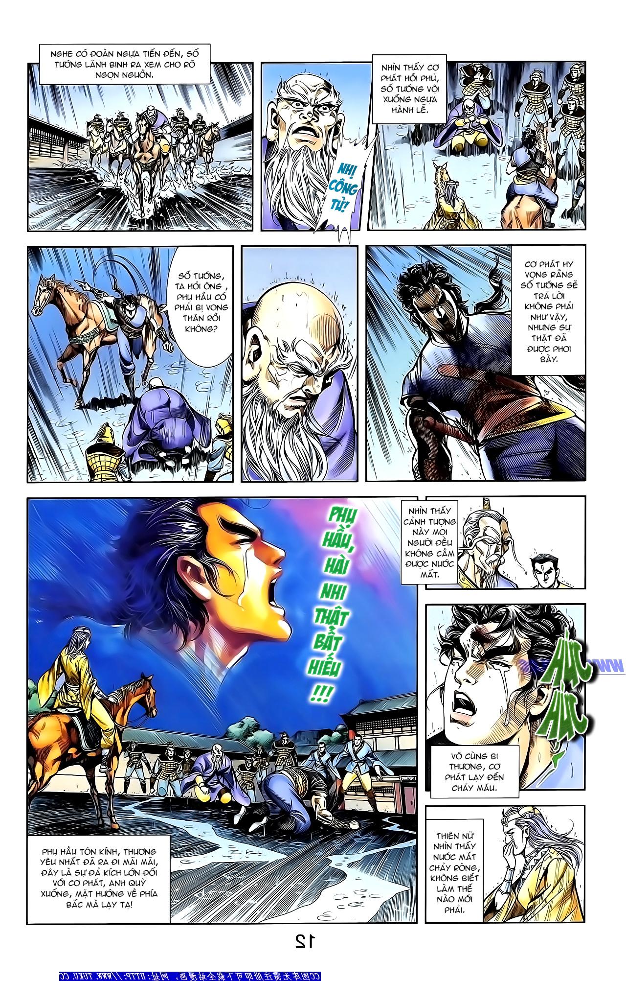 Cơ Phát Khai Chu Bản chapter 152 trang 23