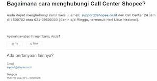 √ Cara Menghubungi Call Center Shopee Belanja Online 3