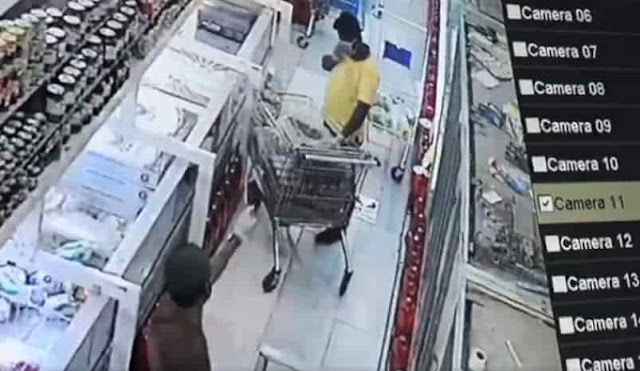 The Public Prosecution begins an Investigation on a Resident who spits in a Supermarket in Tabuk