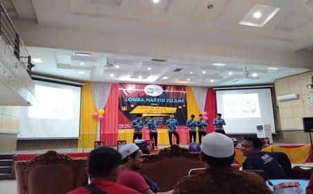 Group Nasyid PAI IAIN Palangka Raya Ikut Berpatisipasi Dalam Lomba Nasyid Yang Diadakan Oleh HMJ PAI UIN Antasari Banjarmasin