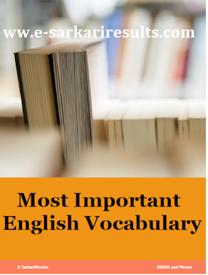 Most Important Vocabulary
