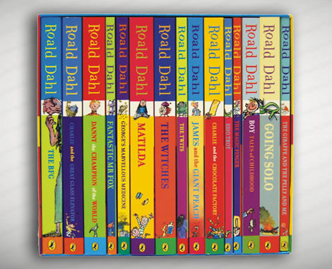 Collection of 15 Roald Dahl books