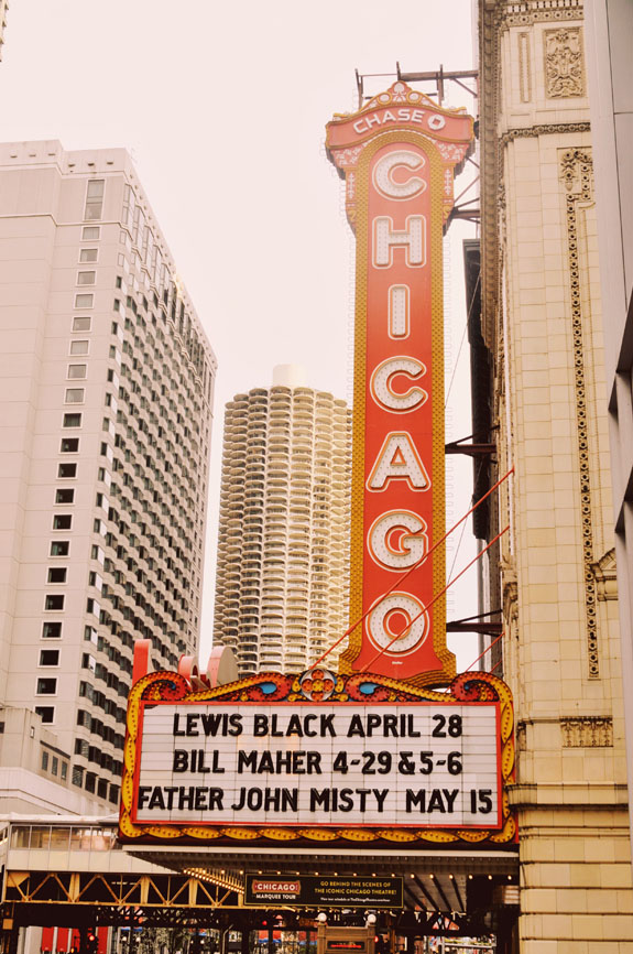 2 days in Chicago itinerary: Chicago Theater